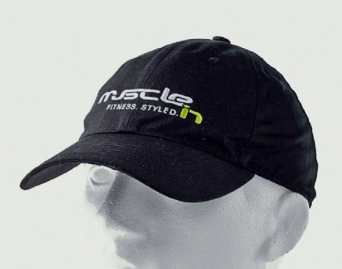 Ultimate Black Sports Cap (WHITE/GREEN)